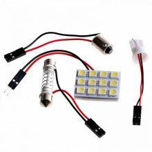Светодиодная панель 12SMD белая