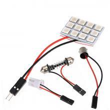 Светодиодная панель 12SMD красная