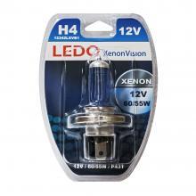 Лампа H4 LEDO XenonVision 12V 60/55W блистер