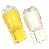 Лампа светодиодная W5W 12V 4LED монолит бел